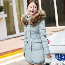Cheap wholesale 2017 new Autumn Winter Hot sale women's fashion casual down cotton coat plus size popular lady work warm Jacket