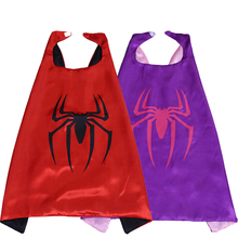 Spider-Man Cloak Peter Parker Batman Mask SuperMan SuperHero The Avengers Kid Birthday Gift Costume Cosplay Party Decor Supplies