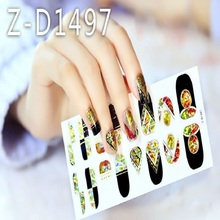 The Beauty Design Nail Art Sticker Professional New Radium At The End The Shell Star All Nails Attached Nail Stickers Wholesale