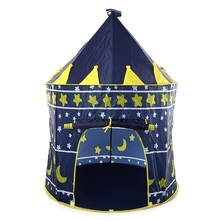 Foldable Play House Tent Pink Blue Portable Outdoor Indoor Toy House Kids Tent Castle Cubby For Kids/Children