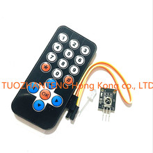 1LOT Infrared IR Wireless Remote Control Module Kits DIY Kit HX1838 For Arduino Raspberry Pi