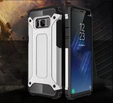 For Samsung Galaxy S8 Plus 2017 A3 A5 A7 J3 J5 J7 Prime S7 EDGE S6 Note5 Hybrid Shock proof Hard Armour Soft Rubber case cover