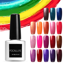 Buy FOCALLURE 1pcs 7ML Pure Color 31 Colors Gel Nail Polish Nail Art Nail Gel Polish UV LED Gel DIY Painting Art for $1.13 in AliExpress store