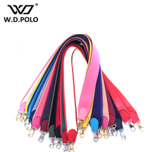 WDPOLO Strapper you handbags strap women bags strap women accessory bags part Genuine leather and canvas belts chic part P1815