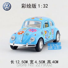 KINSMART DieCast Metal Model/1:32 Scale1967 Volkswagen Classical Special Beetle Toy Car/Children's gift/Educational Collection