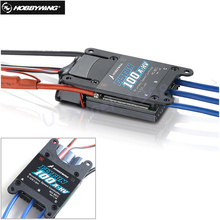 1pcs Original Hobbywing FlyFun-100A-HV ESC For RC trex 600 Helcopter Airplane remote control Wholesale