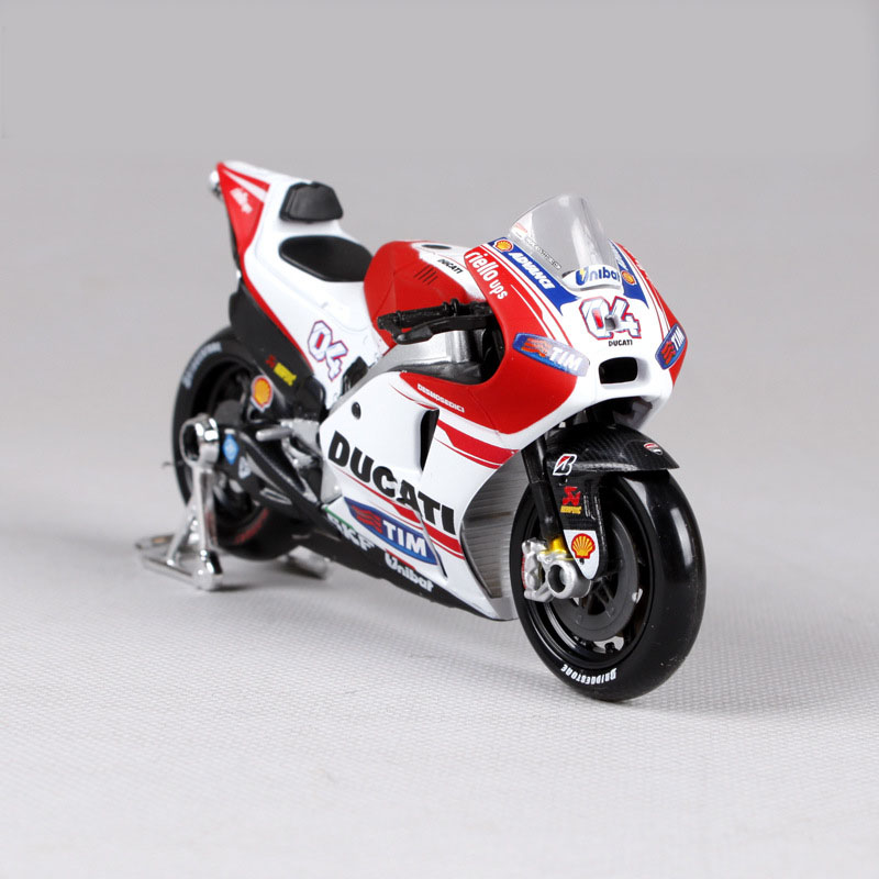 Mnotht 1:18 Model MotoGP Race Bikes DUCATI Andrea Dovizioso #04 Toy Gift 1/18 Motorcycle Diecast Model Toys l65 Collection(China)