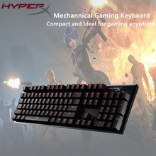 Original Kingston HyperX Alloy FPS Mechanical Keyboard Gaming Keyboard CHERRY MX Mechanical Keys Teclado Mecanico(China)