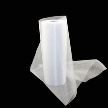 1 Roll 0.2*45M Sheer Mirror Organza Roll Wedding Chair Sash Bow Table Runner Swag Crystal Organza Fabric Free Shipping
