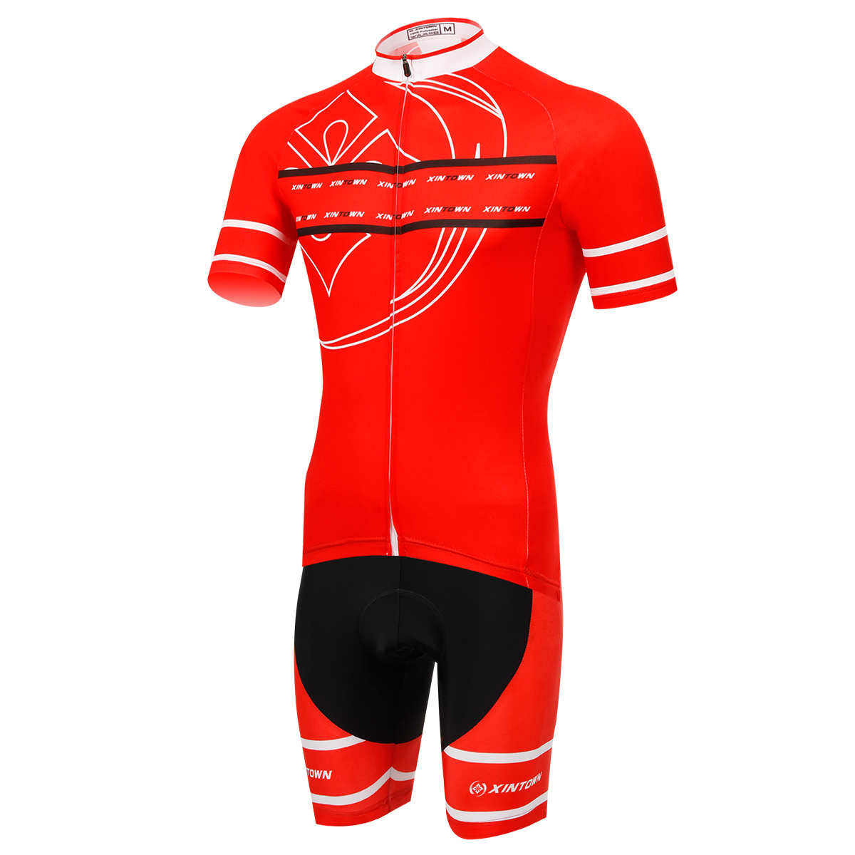 Red Men/Women Cycling Set Short Sleeve Kit MTB Downhill Roupa Ciclismo 100% Polyester Bike Bicycle Wear Breathable bike sets<br>