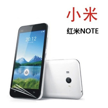 Free Shipping For xiaomu hongmi HD Power Support Film Set Anti-Glare Screen Protector For xiaomi hongmi NOTE Screen Protector