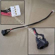 Free shipping For Samsung N128 NP-N128 Q330 Power cord with line power connector(China)