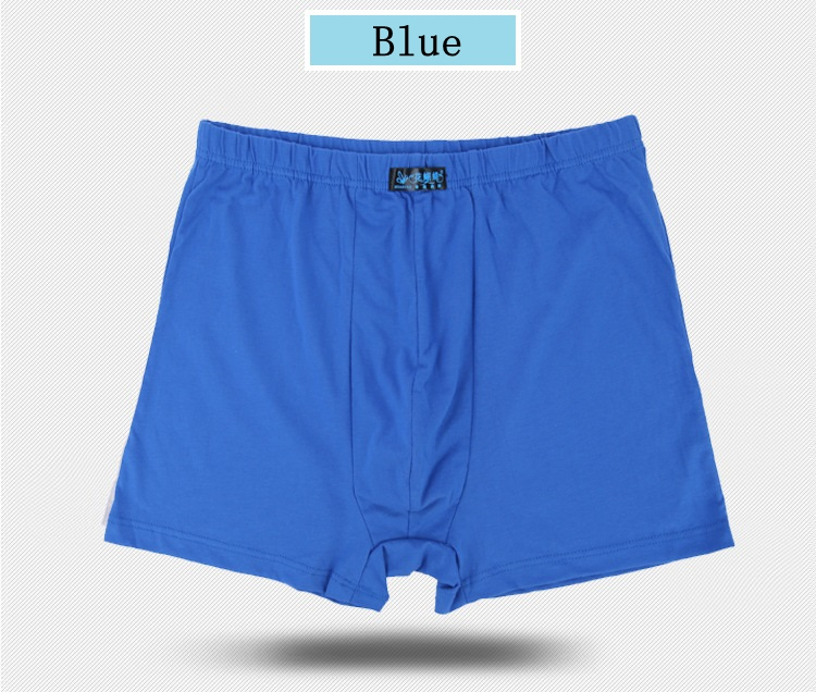 Male Men\`s Long Boxer Shorts Cotton Panties Mens Large Size Underpant Fat New Fashion Sexy Mr Underwear (13)