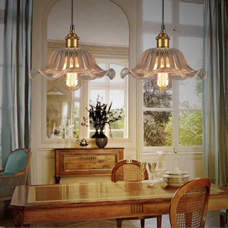 Nordic Loft Style Iron Droplight Edison Vintage Pendant Light Fixtures For Dining Room Industrial Lamp Lamparas Colgantes<br>