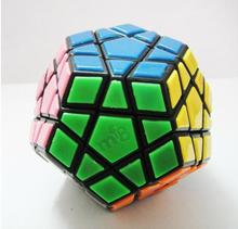 Brand new high quality Megaminx Speed Puzzle Cube dodecahedron MF8 12-Color Tiled Magic Cube Black Educational Toys Gift Toy(China)