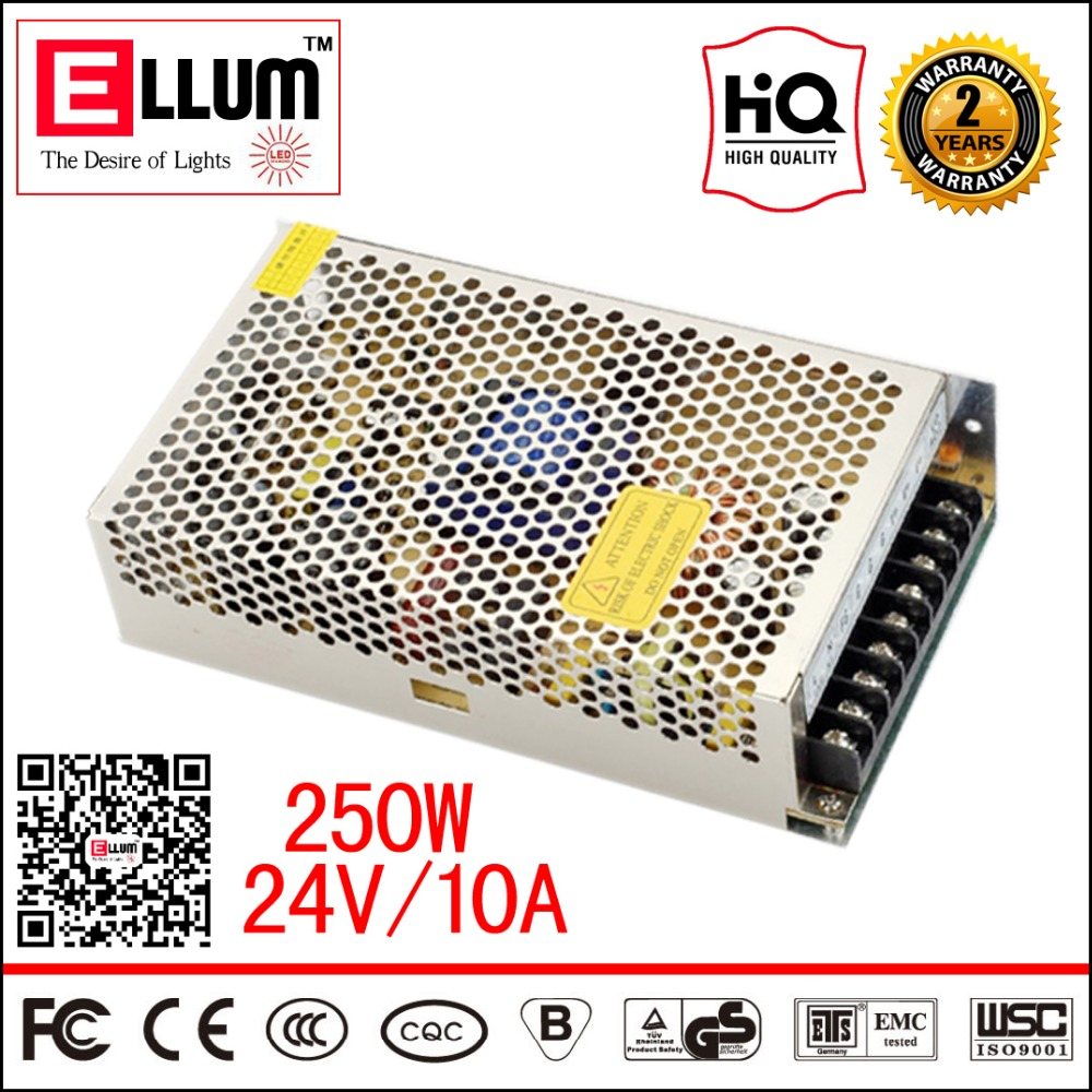 Industrial 220V to 24V Transformer 240W CE ROHS Approval 24VDC LED Driver Source AC/DC Switching Power Supply 24V 10A 250W<br><br>Aliexpress
