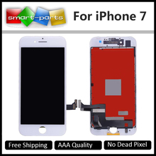 2PCS OEM Quality For iPhone 7 LCD Full Assembly 4.7 inch Screen Replacement Lens Pantalla Black White Display Touch Digitizer