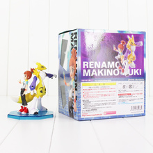 14cm Digimon Toy Adventure Digital Renamon Makino Ruki PVC Figure Collectible Model Toy