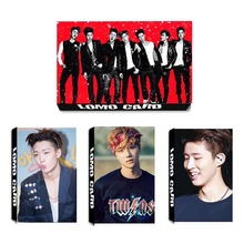 Youpop KPOP Fan IKON B.I BOBBY Album LOMO Cards K-POP Fashion Self Made Paper Photo Card HD Photocard LK360