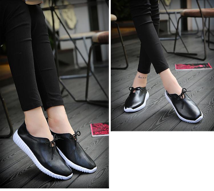 AH 2816 (16) Women's Leather Flats Shoes
