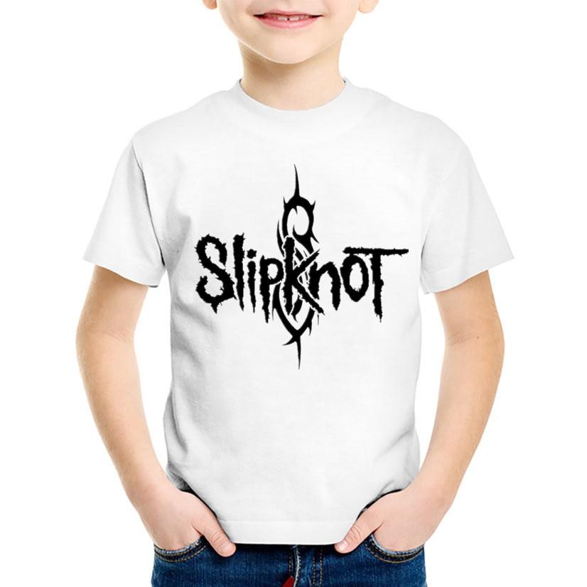 slipknot logo model:1 BLACK t-shirt clothing boy girl kids children slipknot
