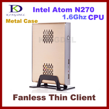 Thin Client Computer, Mini PC, Intel N270 1.60Ghz Dual Core, 1GB RAM, 8GB SSD, 32 Bit, 720P HD, 3D Games supported
