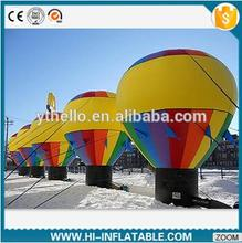 4m inflatable cold air inflatable ground balloon banner for advertising display