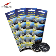 20pcs/4pack Wama CR1220 Button Cell Batteries 3V DL1220 LM1220 Laptop Car Key Remote Control Digital Camera Coin Battery(China)
