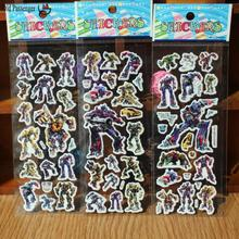 Old Passenger _ 5pcs Mixed Cartoon Bubble Wall Stickers 3d Transformers Toys / Children Cartoon Bubble Stickers Decoration