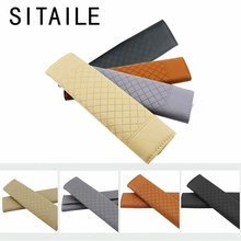 SITAILE 2pcs/pair Car Seat Belt Pad Automobiles Interior Accessories PU Sponge Safety Seat Belt Covers Car-styling