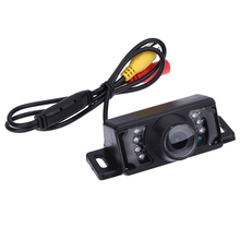 Universal 7 LED HD Night Vision Car Reverse Camera Waterproof 170 Degree CMOS Parking rear view camera Backup Cam de recul(China)