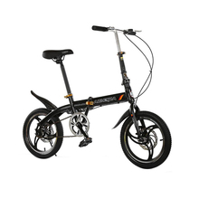 Buy hot sale 16 inches folding bike V brakes Children bicycle 7 speed mountain kid's bike double mini bicycle for $170.20 in AliExpress store