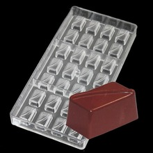 Rectangular Boxes Box DIY Hard Plastic Injec Polycarbonate PC Chocolate Mould