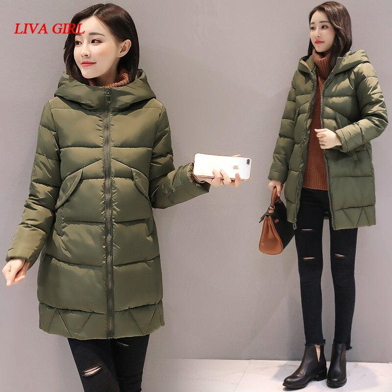 2017 high quality winter women jacket padded warm thick hooded coat outerwear parka casacos de inverno feminino big size 3XLÎäåæäà è àêñåññóàðû<br><br>