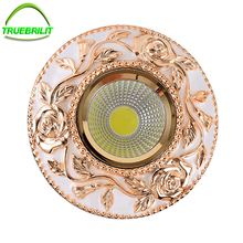 LED Recessed Downlights Ceiling Spot Lamps 3W 5W 7W Down Iights 110V 220V Driver Included replacement for halogen