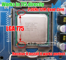 Intel Xeon L5420 CPU 2.5GHz 12M 1333Mhz Processor Works on LGA775 motherboard