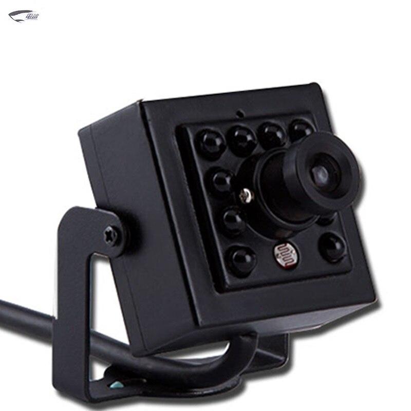 800TVL Hd Mini Cctv Camera IR-Cut Video Surveillance Sensor Camera Night Vision Cam With Bracket 940MN Light For Home Security <br>