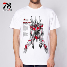 neon genesis evangelion t shirt ATTACK ANGEL EVA 01 02 Anime 2017 mens t-shirt clothing fashion top tees Tshirt(China)