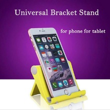 Hot Universal Foldable Mobile Phone Stand Holder Portable Tripod Tablet PC Bracket Holder For Ipad Tablet Cell Phone Oc24