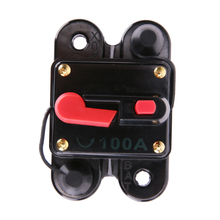 Promotion 100A 12V Square Car Audio Inline Circuit Breaker Fuse for System Protection High Quality Hot sale(China)