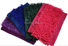 Free shipping!  3 Pieces/Lot  Chenille Replace the mop cloth, cleaning cloth  cleaning mop head Microfiber mop head .