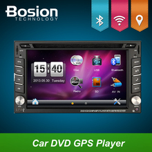 Car Electronics 2din car dvd player GPS Radio Tuner PC Video Monitors for universal RDS Blutooth digital tv (optional)