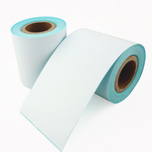 4 rolls/Lot POS thermal label paper 57 50mm continuous label roll use for 58mm cashier printer machine(China)