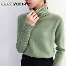 Gogoyouth Trui Vrouwelijke 2019 Herfst Winter Kasjmier Gebreide Vrouwen Trui En Trui Vrouwelijke Tricot Jersey Jumper Pull Femme(China)
