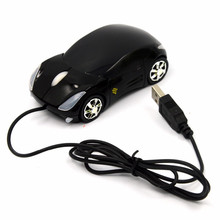 New Arrive 1800DPI Mini Car Shape USB Optical Wired Innovative 2 Headlights For Desktop Computer Laptop Mice Recommend Mouse(China)