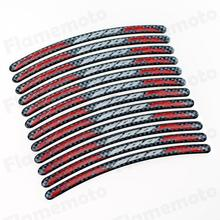 Free shipping Motorcycle Carbon RIM Stripe Wheel Decal Tape Sticker For Honda CBR 600RR CBR600RR