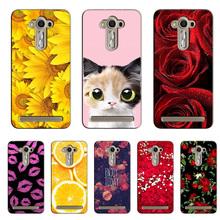 Popular Cover For ASUS Zenfone 2 Laser 5.5 inch ZE550KL Colorful Printing Case Flower for ZenFone ZE550KL case cover Shell