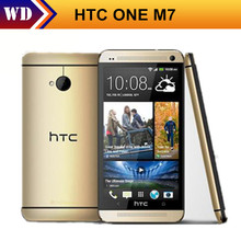 Original Phone HTC ONE M7 Unlocked 3G 4G Wifi GPS 4.7'' Touch Cell Phone 2GB RAM 32GB Storage Android SmartPhone Free Shipping