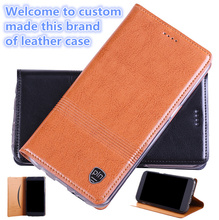 QH14 Genuine leather flip cover with card holder for Asus Zenfone AR ZS571KL phone case for Asus Zenfone AR leather case(China)