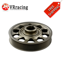 VR RACING - FREE SHIPPING Racing Light-Weight Crank Pulley For CIVIC FD2 FD2R 2.0 K20A VR-CP005